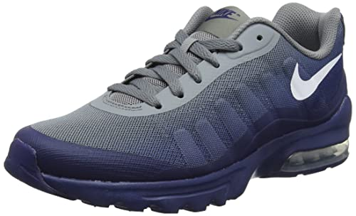 Nike Air MAX Invigor Print, Zapatillas para Hombre, Gris (Cool Grey/White-Blue Void 008), 44 EU: Amazon.es: Zapatos y complementos
