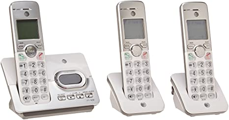 AT/&T EL52253 DECT 6.0 5-Handset Cordless Answering System with Caller ID//Call