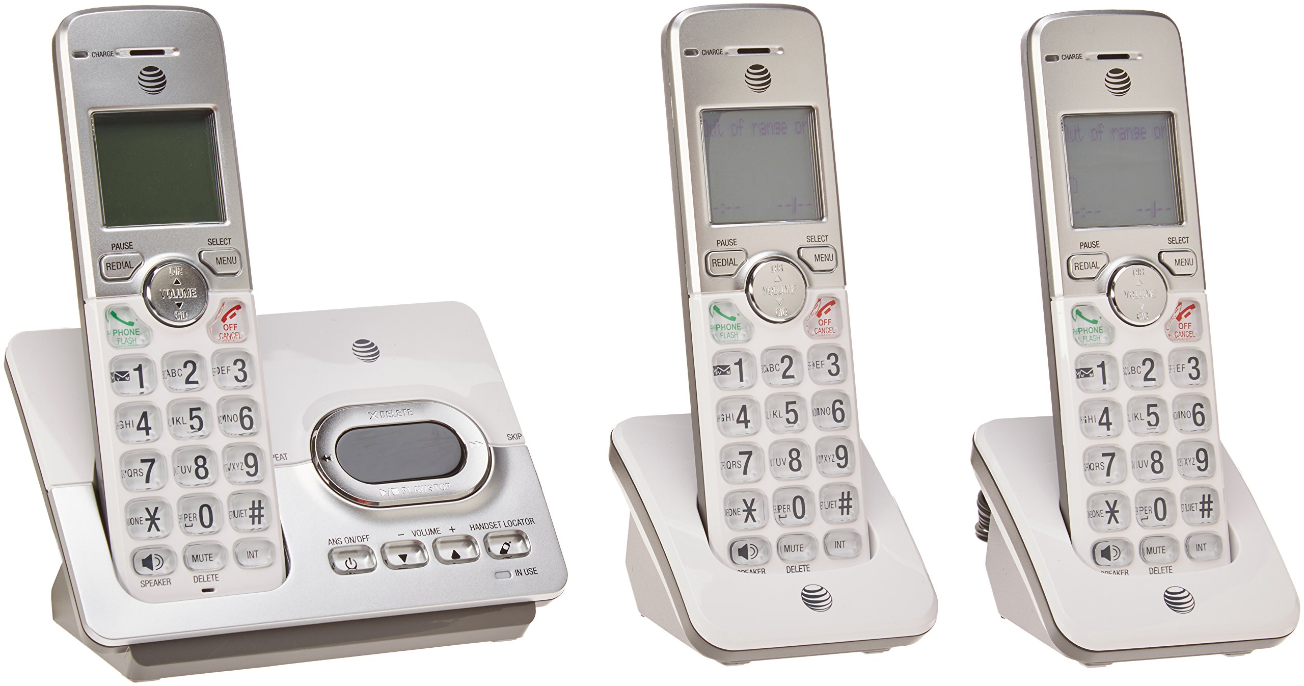 AT&T EL52303 3 Handset Cordless Answering System with Caller ID/Call Waiting