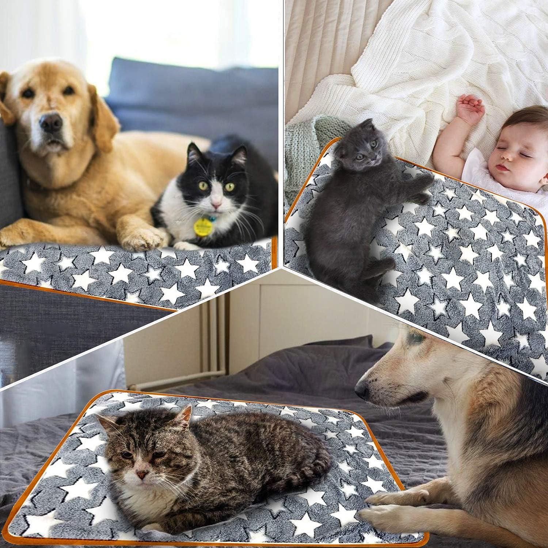 Coperta per Animale Coperta per Cane//Gatto Lavabile Soffice Durevole per Cani WELLXUNK/® Pet Coperte Conigli E Altri Animali Domestici Gatti Coperta calda animali