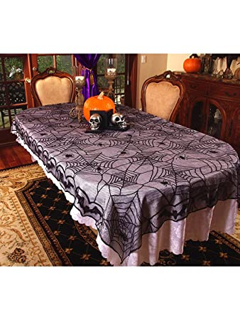 Spider Web Lace Tablecloth Decoration