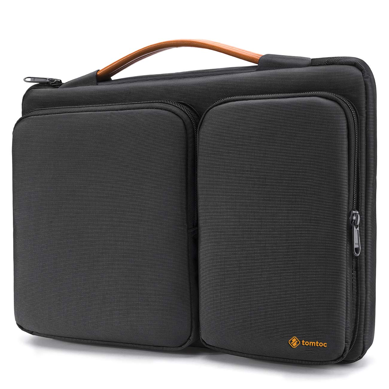 tomtoc 360 Protective 14 Inch Laptop Sleeve for 15-inch New MacBook Pro w/Touch Bar (A1990 A1707), ThinkPad X1 Yoga (1-4th Gen), 14 HP Dell Acer Chromebook, Surface Laptop 3 15 Inch 2019 by tomtoc
