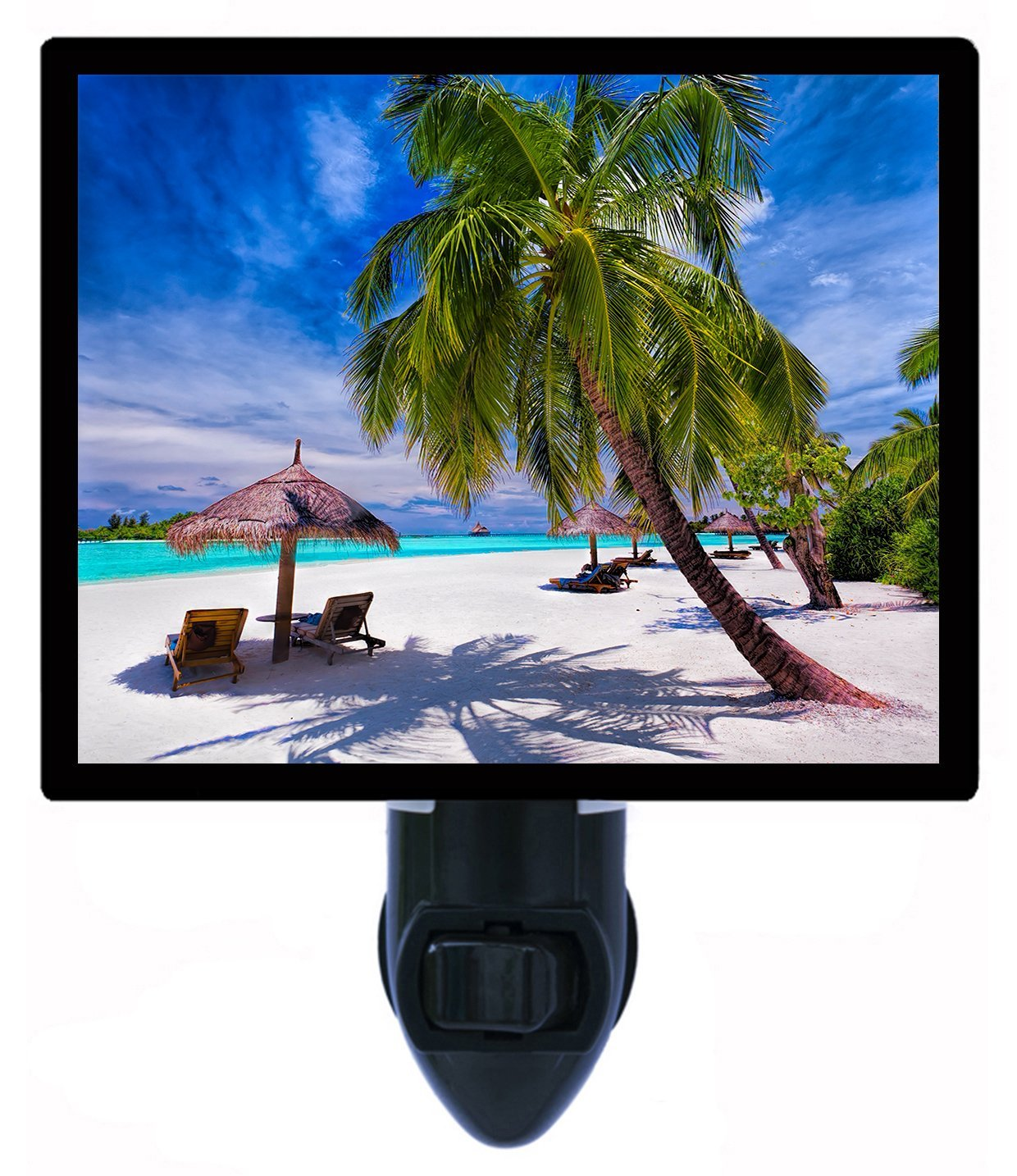 Night Light – Shadeのビットを – ビーチ – Tropical – 夏 – 椅子 B01G42PFXO 15983