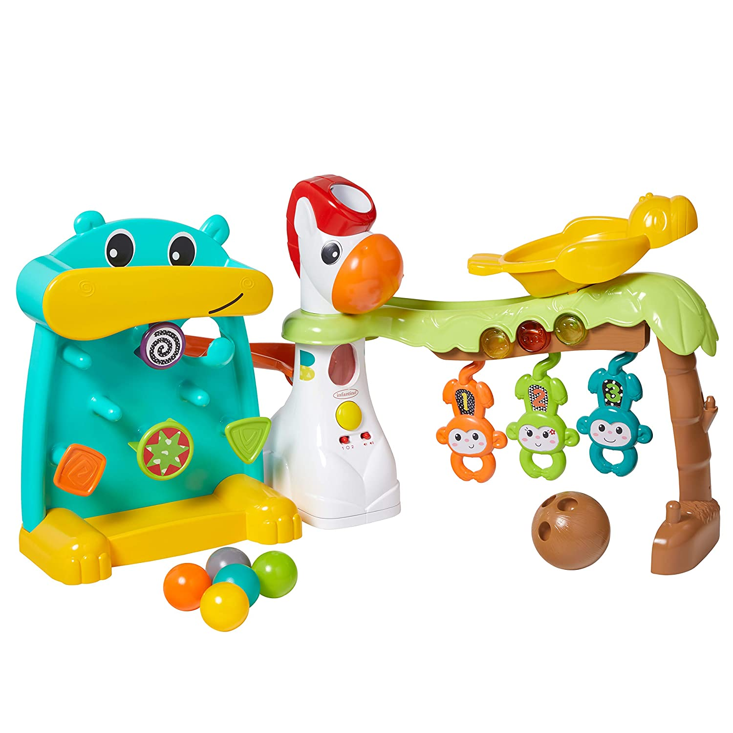 Infantino 4-in-1 Grow with Me Playland, Multi