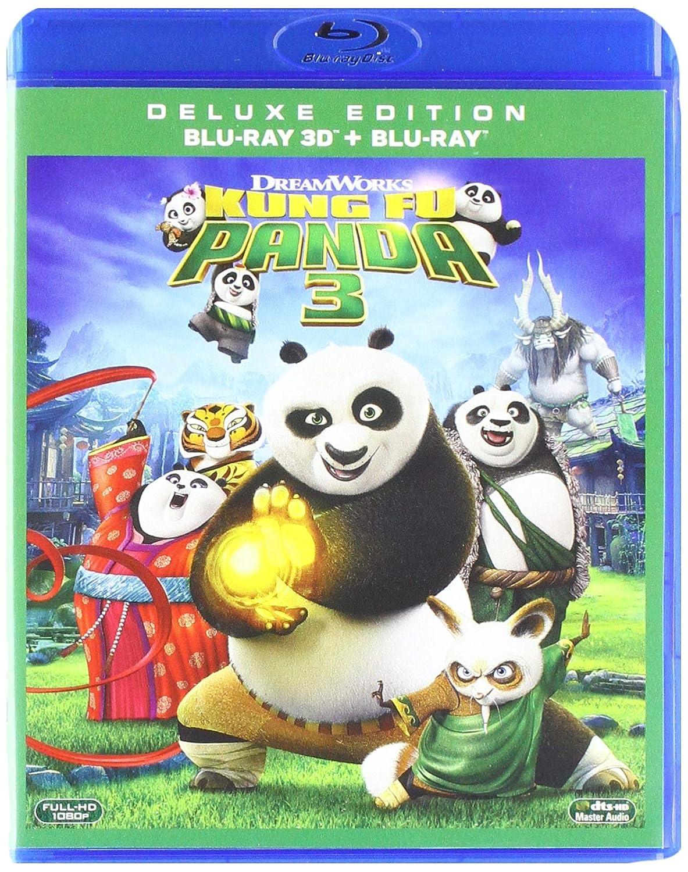 Amazon Com Kung Fu Panda 3 2016 3d 2d Blu Ray Kung Fu Panda 3 Movies Tv