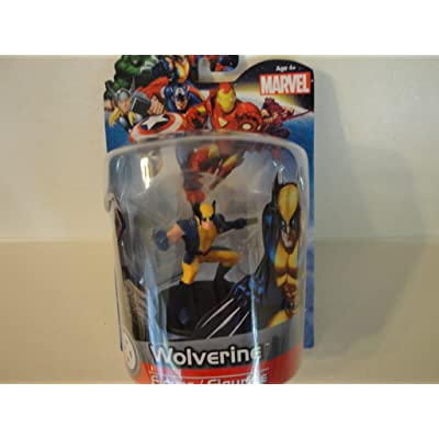 """Jamn Products 4"""" Marvel Figure -Wolverine: Toys & Games"""