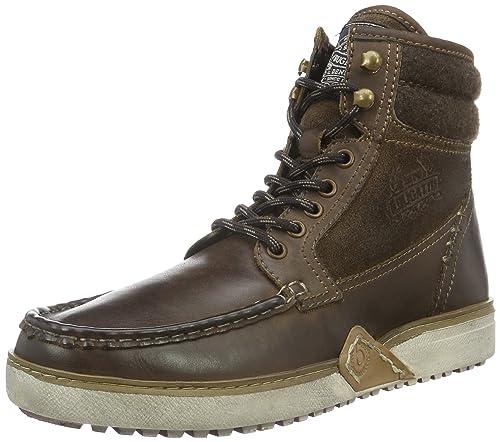 Bugatti K315483, Botines para Hombre, Marrón (Dunkelbraun 610dunkelbraun 610), 43 EU: Amazon.es: Zapatos y complementos