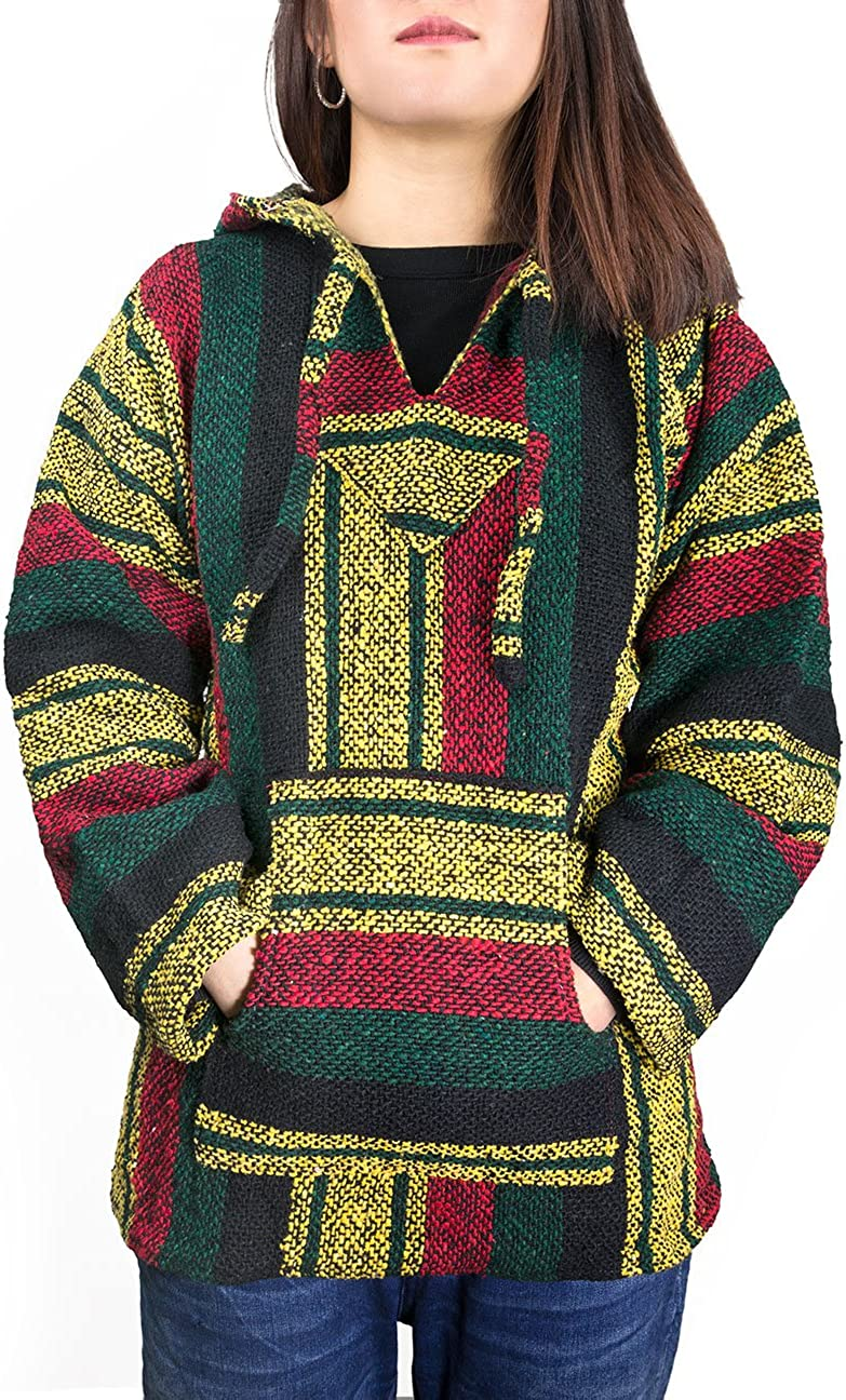 Cleverbrand El Paso Designs Unisex Classic Mexican Baja Pullover Hoodie