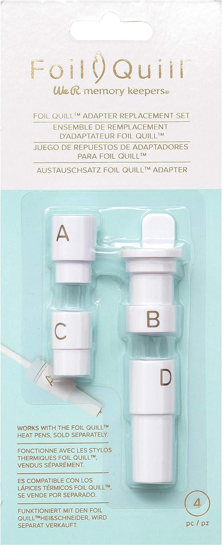 We R Memory Keepers - Juego de adaptadores para muelles (4 unidades), multicolor: Amazon.es: Hogar