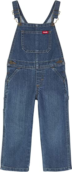 Wrangler Authentics Baby Boys Denim Overall