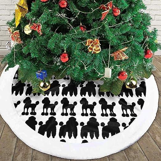 N/A Falda para árbol de Navidad, Dibujo a Mano, Color Negro ...