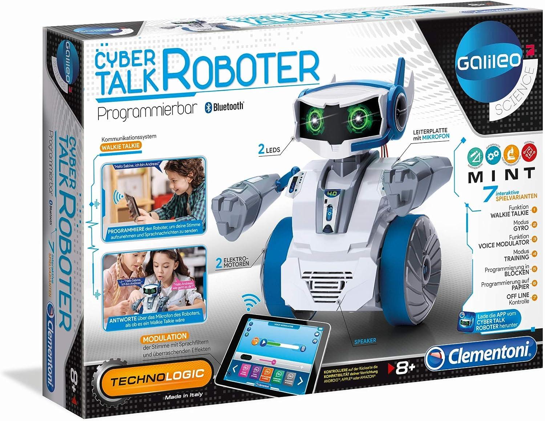 Clementoni 59142 Cyber Talk Roboter, Multicolor alfonbrilla para ratón , color/modelo surtido
