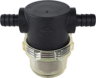 """product image for GasTapper Cleanable, Durable Fuel Filter 3/8"""" Connection for Inlet/Outlet"""