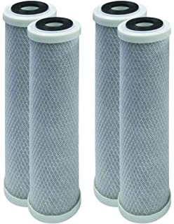 Universal 10-inch 5-Micron Cartridge Compatible with GE HOUSEHOLD PRE-FILTRATION SYSTEM Denali Pure Brand 8-Pack Replacement for GE GXWH04F Polypropylene Sediment Filter