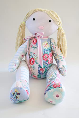 Memory Doll Sewing Pattern Rag Doll Pattern Made From Baby Clothes
