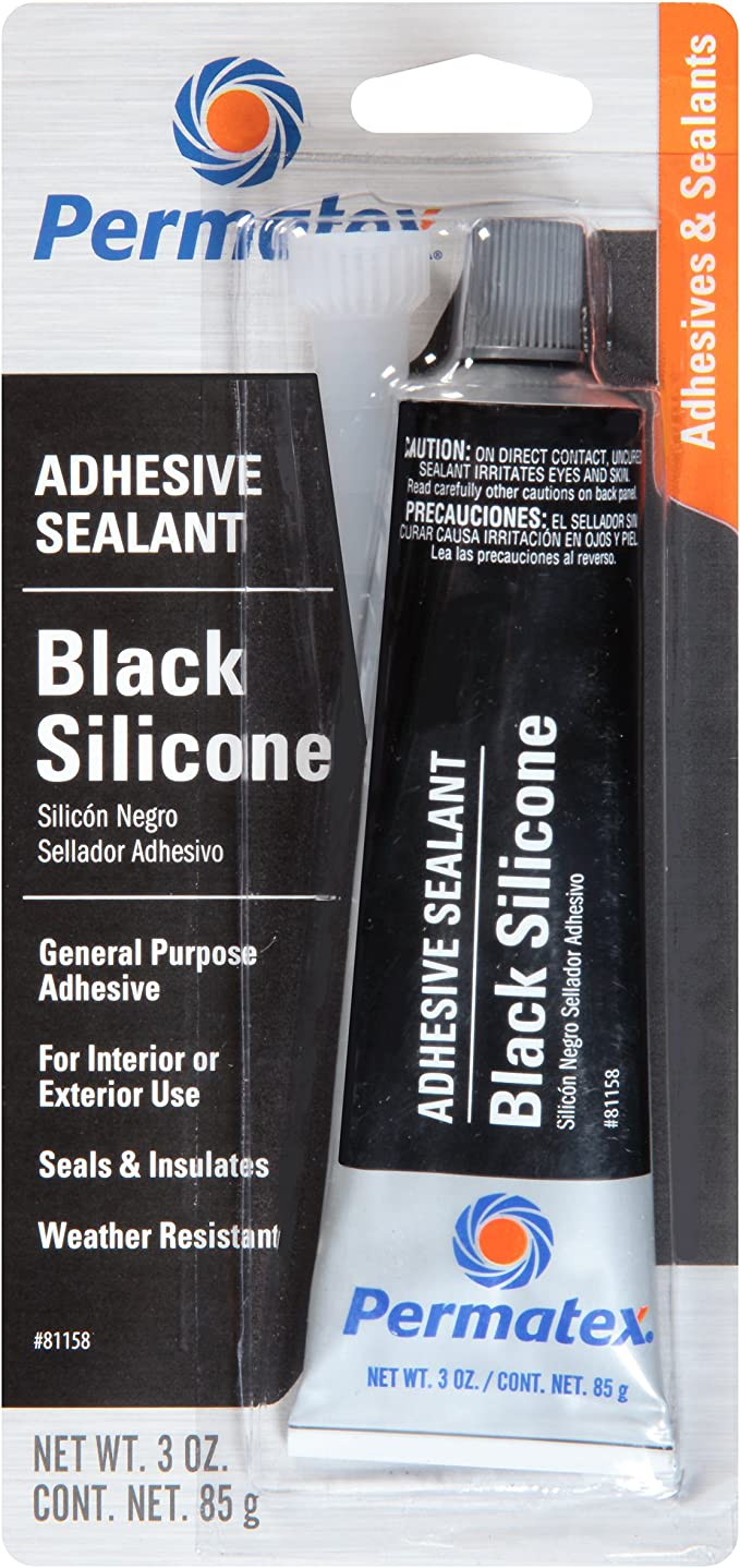 Metal Panel Black Sealant Free Shipping 12 Tube Pack