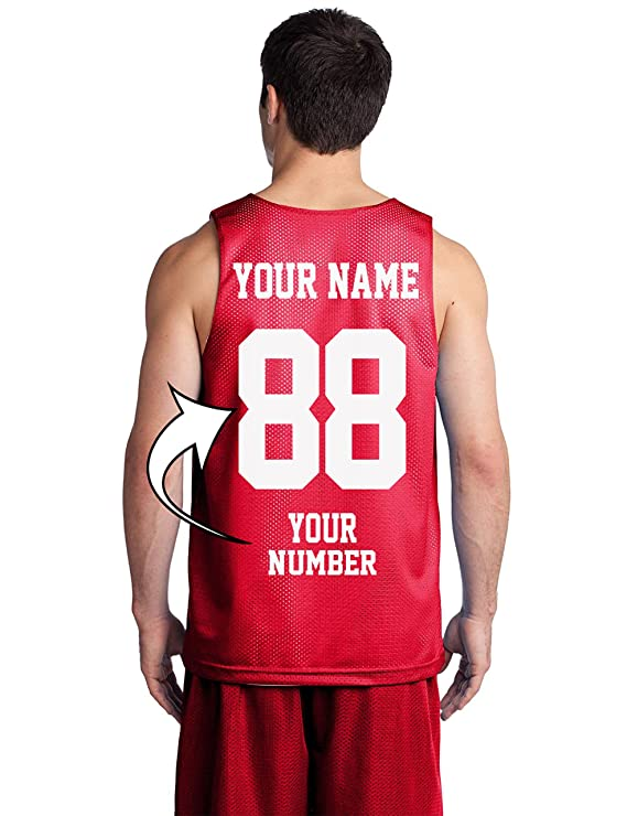 Custom Basketball Tank Tops - Make Your OWN Jersey - Personalized Team Uniforms