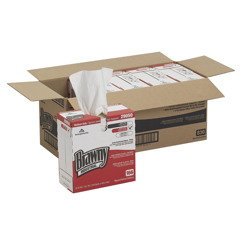 Amazon.com: Brawny industriales 29050/03 Blanca 4-Ply Scrim ...