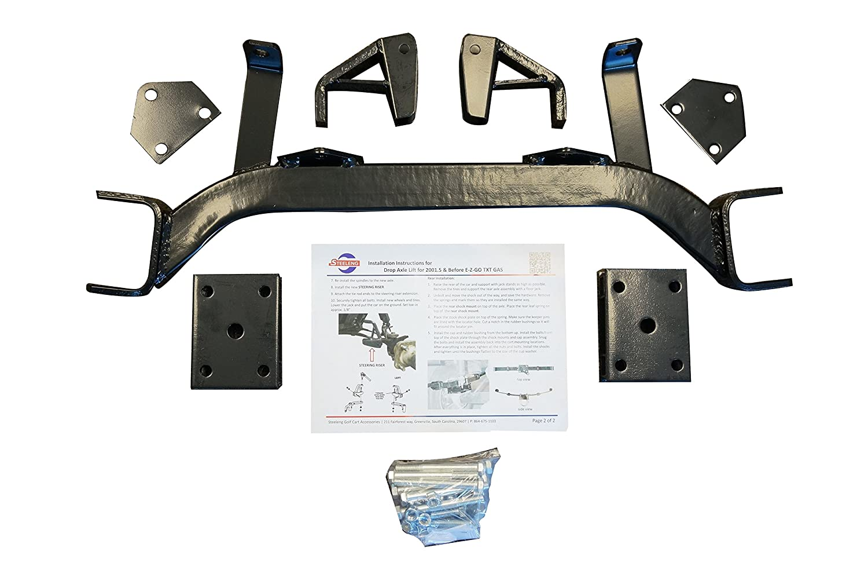 6 Drop Axle Lift Kit For Ezgo Txt Medalist Electric 2001 Wiring Diagram Gas Golf Carts 1994 20015 Automotive