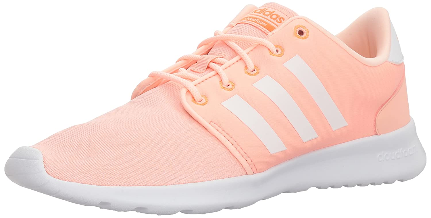 adidas Women's Cf Qt Racer W B072PP6MSH 9.5 B(M) US|Haze Coral/White/Hi-res Orange