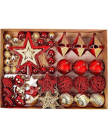 Bolas de navidad   Amazon.es