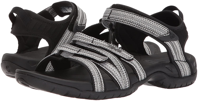 Teva Women's Tirra Athletic Sandal B07CRB5KXZ 38-39 M EU / 7.5 B(M) US|Black/White Multi