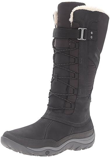 06fd2c329e890 Amazon.com   Merrell Women's Murren Tall Waterproof-W Snow Boot ...
