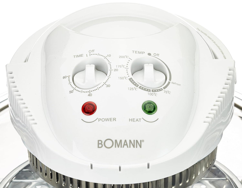 Bomann HLO 2280 CB - Horno de convección halógeno, capacidad de 12 l, 1400 W: Bomann: Amazon.es: Hogar
