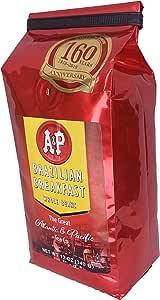 AP BRAZILIAN340 Coffee Whole Beans, 12-Ounce, Brazilian Breakfast