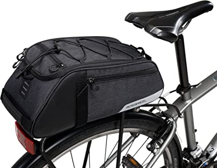 Cycling Bicycle Bike Rear Rack Bag Tail Seat Pannier Trunk Shoulder Pack Waterpr