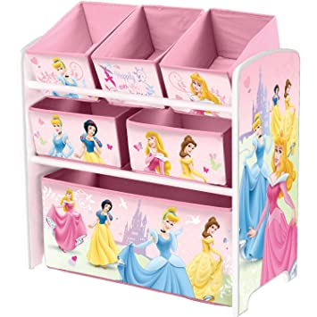 Disney Princess Regal Kindermöbel Spielzeugkiste Kinderregal holz Prinzessin
