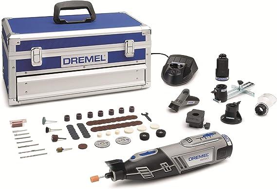 Dremel Platinum Edition 8220 - Multiherramienta inalámbrica, 12 V, kit con 5 complementos, 65 accesorios, velocidad 5.000 - 35.000 rpm para tallar, grabar, fresar, amolar, pulir, cortar y lijar: Amazon.es: Bricolaje y herramientas