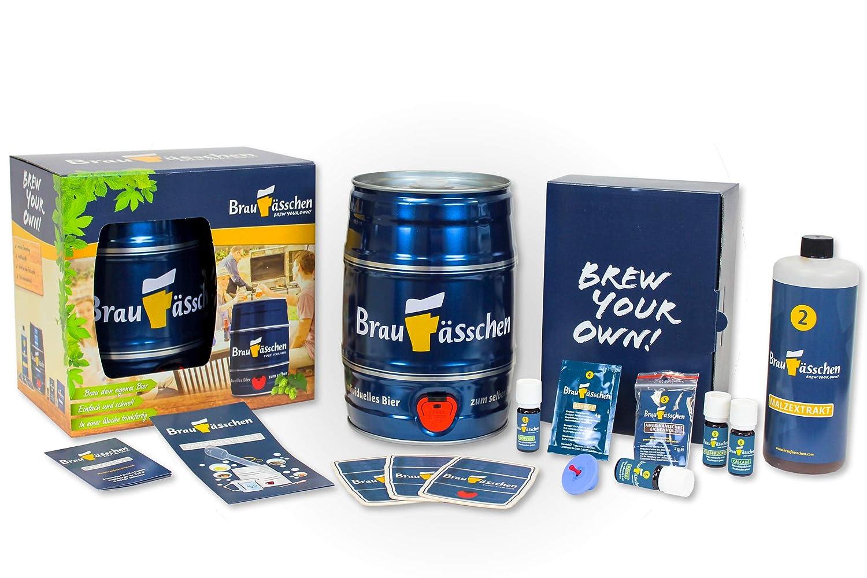 Premium Craft Beer Bierbrauset zum selber Brauen – IPA-Experimentierset – In 7 Tagen gebraut Customized Drinks GmbH