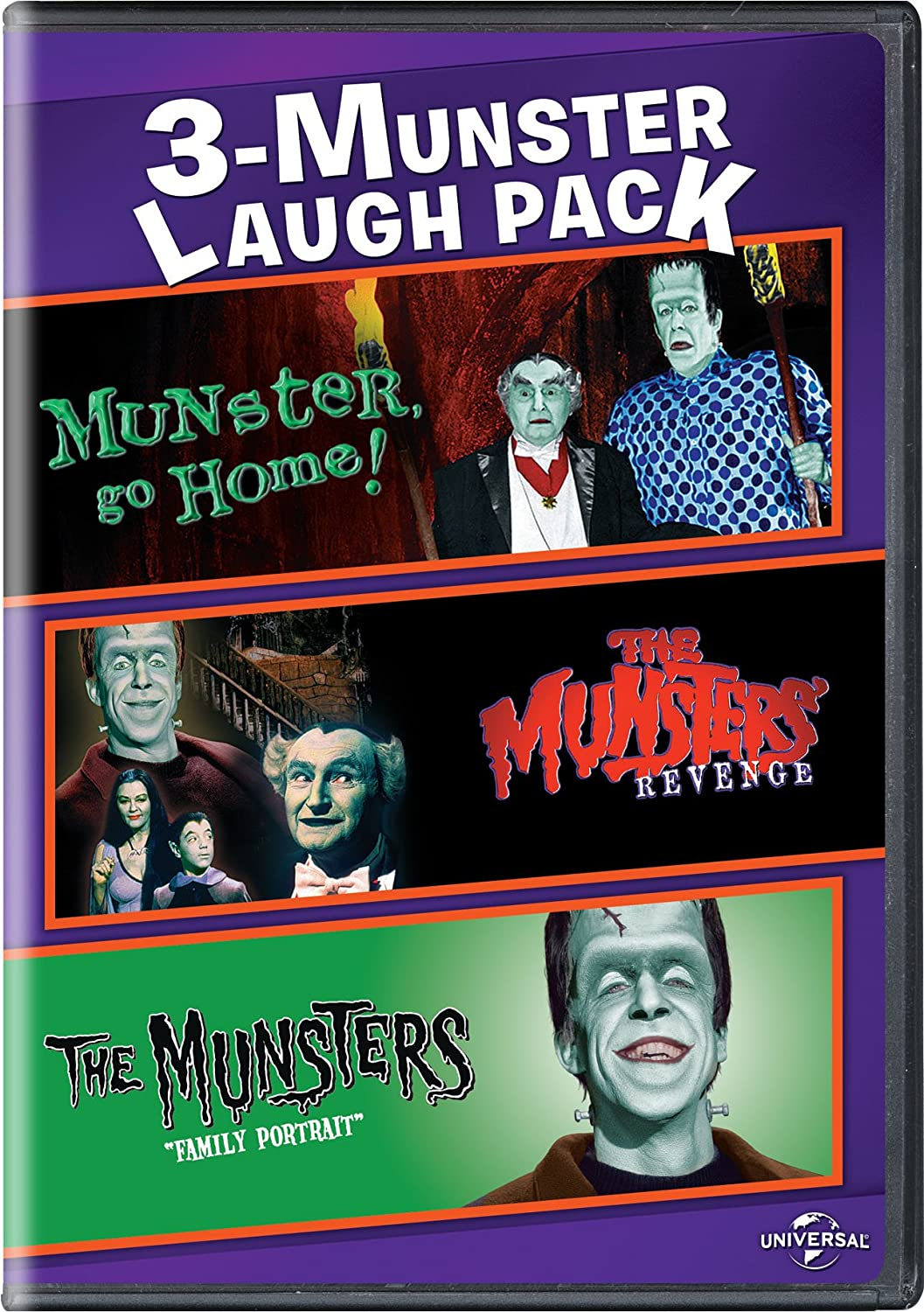 Munster, Go Home! / The Munsters' Revenge / The Munsters: Family Portrait 3-Munster Laugh Pack