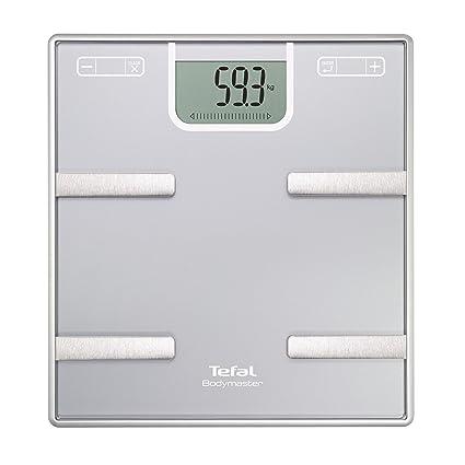Tefal Bodymaster BM6010 Rectángulo Plata Báscula personal electrónica - Báscula de baño (Báscula personal electrónica