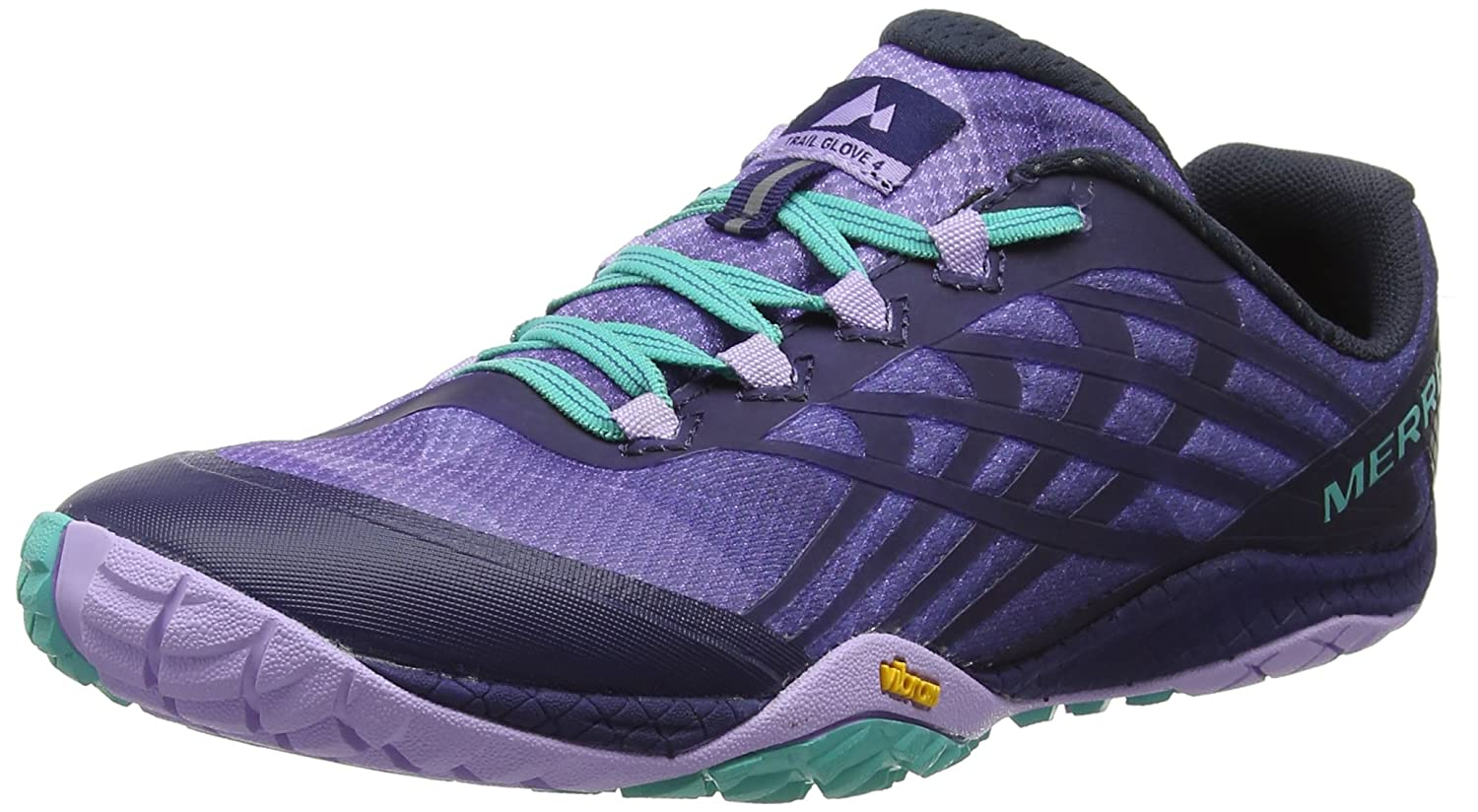 Merrell Women's Glove 4 Trail Runner B077P7DWPZ 8 B(M) US|Very Grape/Astral Aura