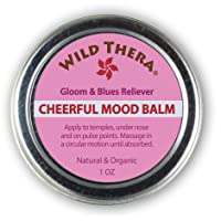 Wild Thera Natural Mood Uplifting Herbal Balm for Anxiety& Depression. Booster with...