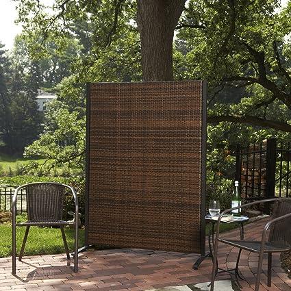 Superbe Versare Outdoor Wicker Resin Room Divider