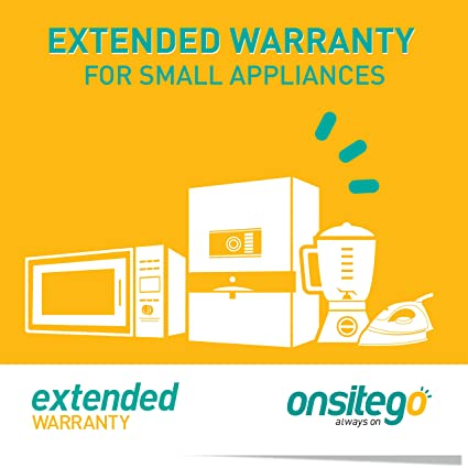 OnsiteGo 1 year Extended Warranty for Small Appliances (Rs 0 to 5000)