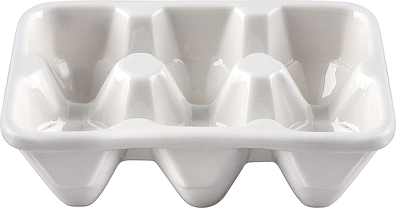 Creative Co Op Ceramic Egg Holder Amazon Ca Home Kitchen
