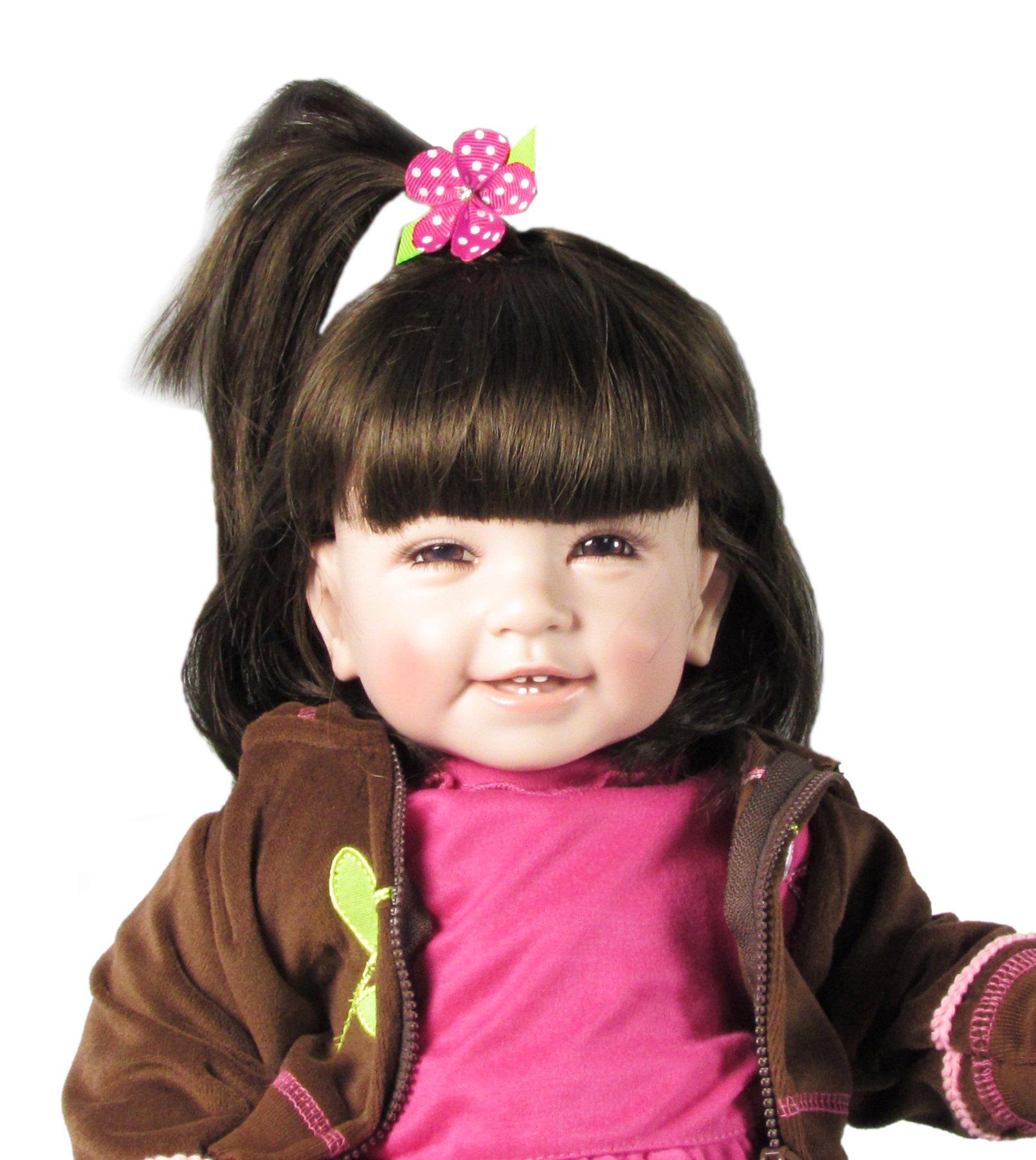 """Women, Baby Girl Hair Clips, Toddler Girl Hair Bows-Hipgirl 15pc 1.5"""" Mini Flower No Slip Grip Metal Barrette"""