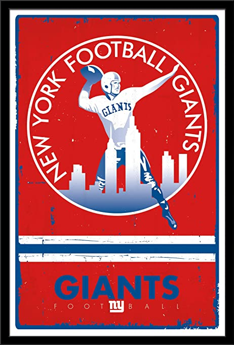 Trends International New York Giants Retro Logo 04ccae665