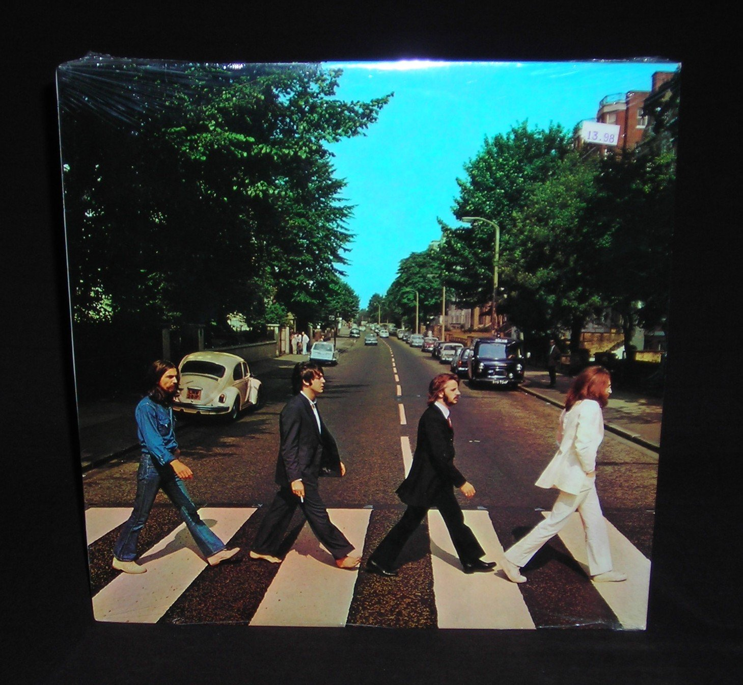 Polythene pam she came in through the bathroom window - The Beatles Beatles Abbey Road Capitol Vinyl Lp Record Amazon Com Music
