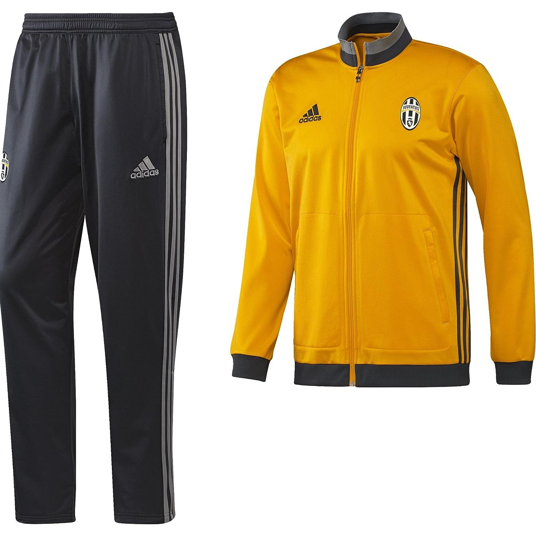 Adidas Juve PES Suit Tuta da Ginnastica, Uomo, Oro/Grigio (Doruni/Griosc/Grpuch), S MainApps AI6986_S