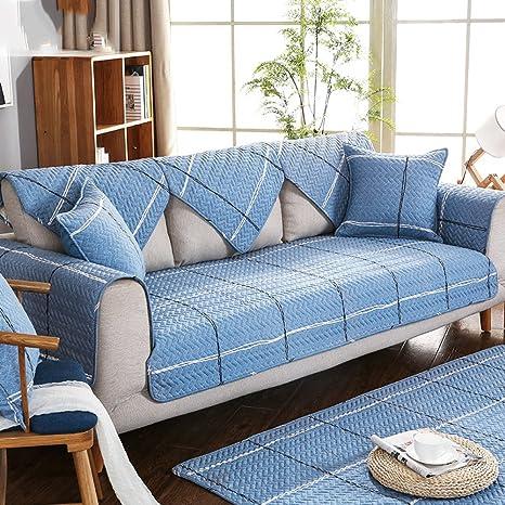 MA&MA Lino sofá Cover Protector, sofá Antideslizante ...