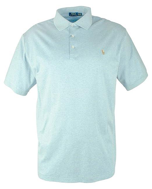 1a5d4ca5 Polo Ralph Lauren Men's Big and Tall Short Sleeve Pima Soft-Touch Polo Shirt