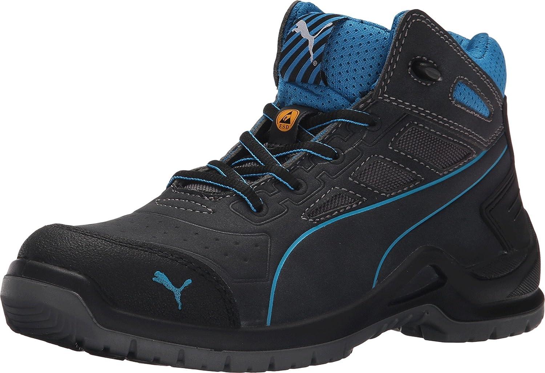 PUMA Women's Beryll Mid SD Water Resistant Steel Toe Sneaker B014J321WI 9 B(M) US|Gray