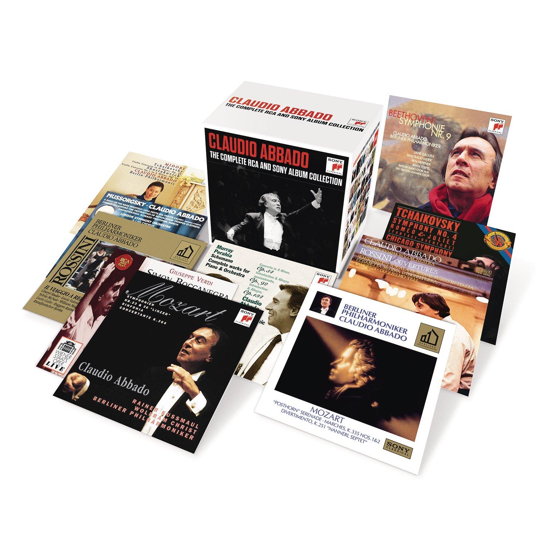 Claudio Abbado: The Complete RCA And Sony Album Collection: Claudio Abbado: Amazon.es: Música