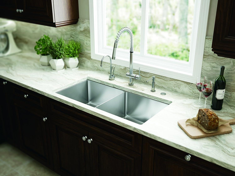 Franke FF2100 Oxygen Flex Single Handle Pull-Down Kitchen Faucet ...