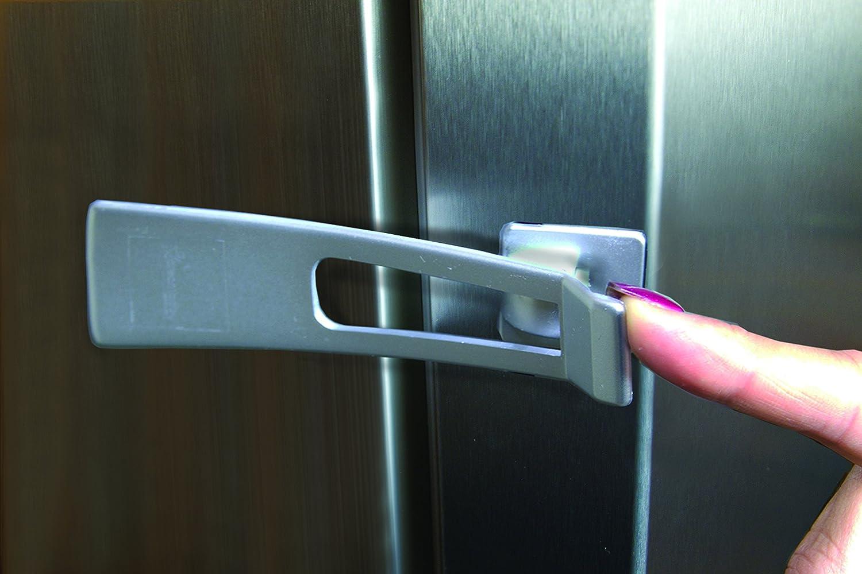 Kühlschrank Kindersicherung : Dreambaby kühlschrank und appliance riegel silber : amazon.de: baby